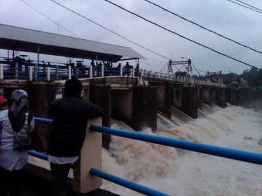 Hujan Deras, Begini Ketinggian Air Sejumlah Bendungan di Jabodetabek