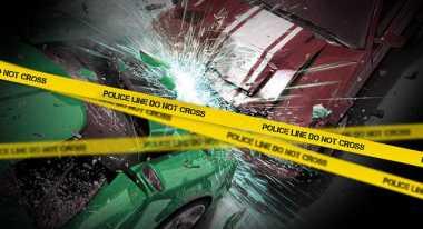 Angkot Tabrakan Beruntun di Depan UPI, Tiga Orang Terluka