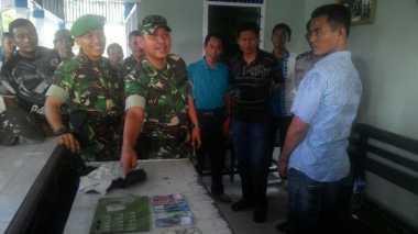 TNI Bekuk Pengedar Narkoba, Belasan Paket Sabu Disita