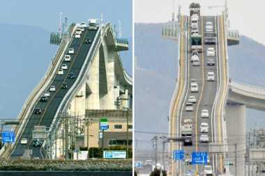 TOP TRAVEL 4: Gila, Jembatan Tol di Jepang Ini Tercuram di Dunia