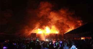 Pemilik Naik Haji, Rumah Hangus Terbakar