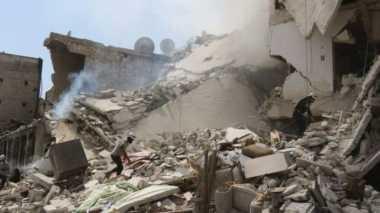 Bom Barel Tewaskan 15 Pelayat di Aleppo