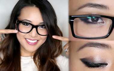 Eyeshadow yang Tepat untuk Wanita Berkacamata