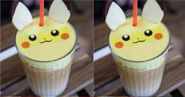 Rela Teguk Lucunya Minuman Pikachu Ini?