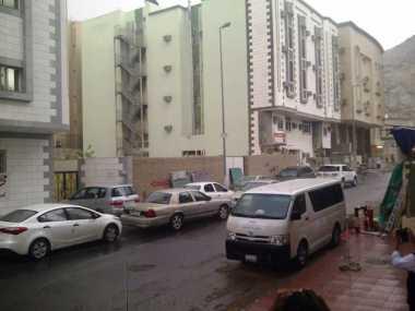 Hujan Deras Guyur Makkah