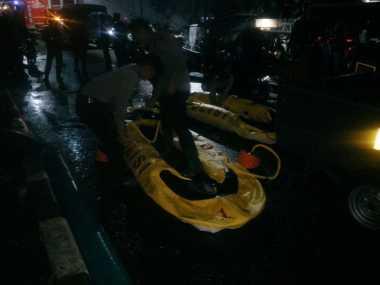 Evakuasi Korban Banjir di Kemang, Sejumlah Perahu Karet Diterjunkan