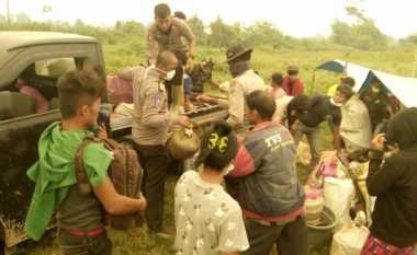 Kabut Asap Kian Parah, Ratusan Warga Riau Mengungsi