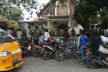 Lokasi Bom Bunuh Diri di Gereja Medan Jadi Tontonan Warga