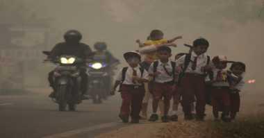 Jumlah Warga yang Sakit Meningkat Akibat Kabut Asap