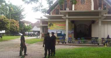 Akibat Teror Bom, Gereja dan Bandara di Medan Dijaga Ketat