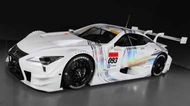 Mobil Balap Futuristis Lexus Siap Berlaga di Balap Super GT