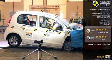 Pemerintah Didorong Lakukan Uji Tabrak Mobil di Indonesia