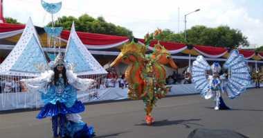 Ini yang Beda di Acara Puncak Jember Fashion Carnaval
