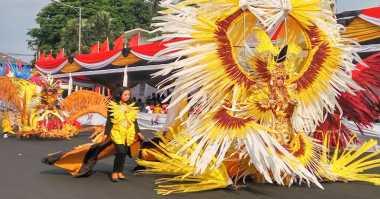 FOTO: Kostum Heboh Jember Fashion Carnaval