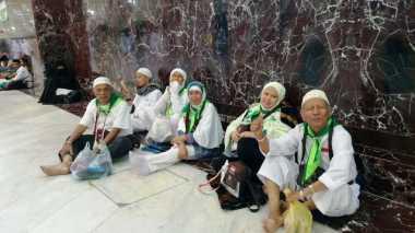83.011 Jamaah Indonesia Bertebaran di Berbagai Sudut Kota Makkah