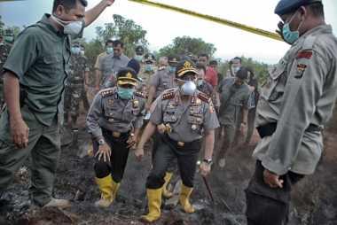 Kapolri Akan Telusuri 8 Perusahaan Pembakar Lahan di Riau