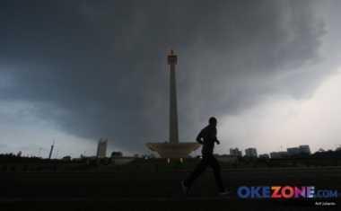 Awal Pekan, Hujan Intai DKI Jakarta