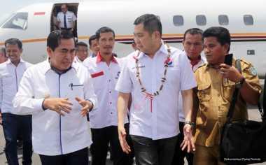 Wali Kota Sungaipenuh Sambut Hangat Kedatangan Hary Tanoe di Jambi
