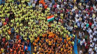 Uniknya Piramida Manusia di India