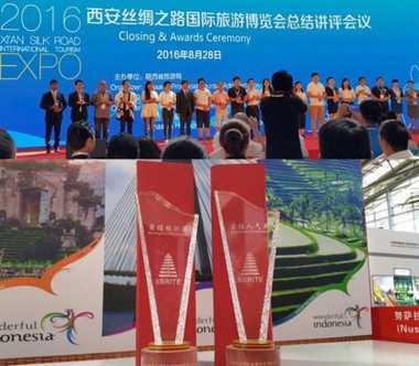 Bangga! Wonderful Indonesia Raih 2 Penghargaan di Tiongkok