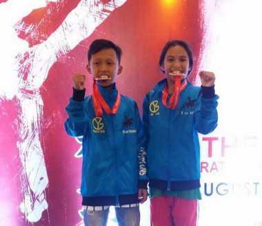 Klub Karate Young Guns Raih Dua Medali di SKIF 2016