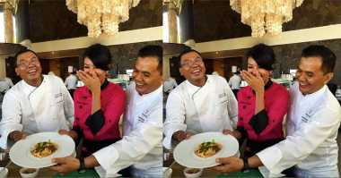 Begini Keseruan Chef Farah Quinn Masak Bareng 2 Chef dari Bali