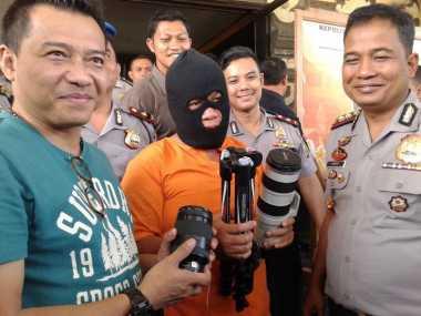 Pembobol Villa Anang Hermansyah di Bali Seorang Residivis