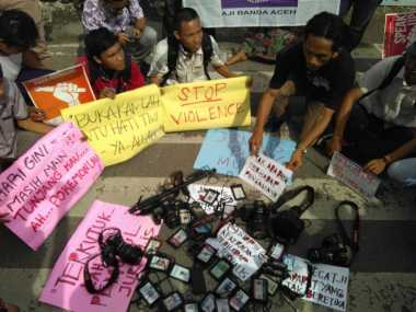 AJI, IJTI dan PFI Boikot Lomba Foto & Video Digelar TNI