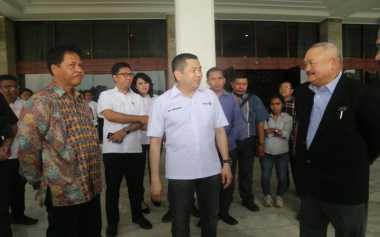 Hary Tanoesoedibjo Tinjau Lokasi Pembangunan Sirkuit MotoGP dan F1 di Palembang