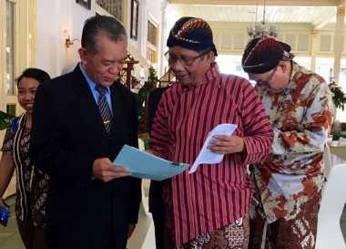Jadi 'Penasihat' Sultan, Mahfud MD Ungkap Alasannya