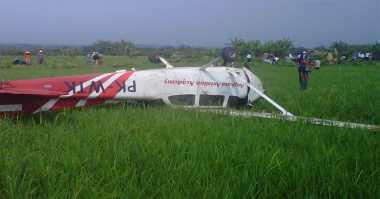 Kronologi Pesawat Latih Jatuh di Cirebon