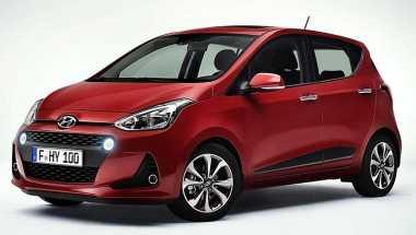Hyundai i10 Facelift Debut Dunia di Paris