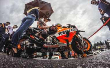 Marc Marquez Waspadai Cuaca Tak Menentu Silverstone