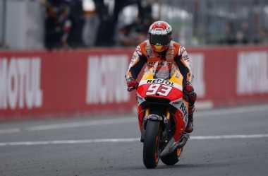 Hot Sport: Marquez Jatuh Cinta dengan Silverstone