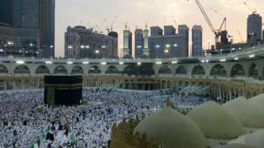 Tenda Jamaah Haji Indonesia Sudah Berdiri di Arafah