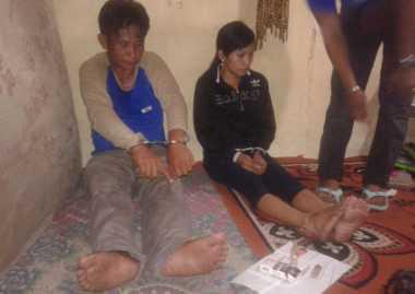 Pasangan Kumpul Kebo Ditangkap Usai Nyabu