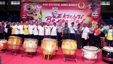 Barongsai dan Liong Diperkenalkan dalam PON XIX/2016