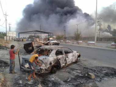 Tiga Bom Bunuh Diri Guncang Irak, 11 Orang Tewas