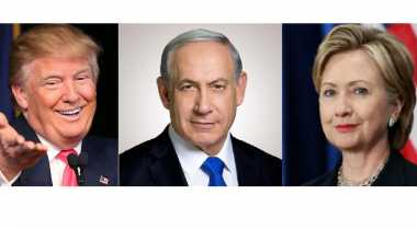 Didesak Obama Soal Palestina, Netanyahu Temui Hillary dan Trump