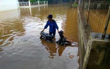 Diguyur Hujan, Sejumlah Wilayah di DKI Banjir