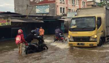 Banjir di Ciledug Berangsur Surut