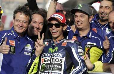 Rossi: Sulit Kalahkan Marquez di Motorland Aragon
