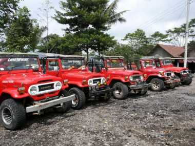 Keseruan Berwisata Lava Tour Merapi Yogyakarta dengan Mobil Jeep