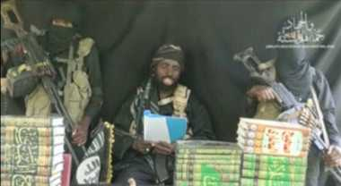 Pemimpin Boko Haram Muncul di Youtube Bantah Pernyataan Militer