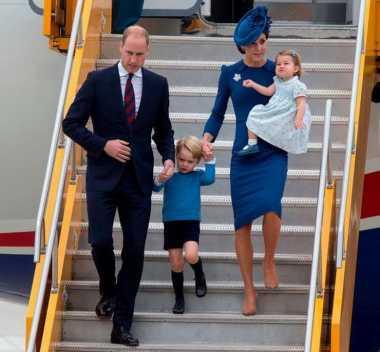 Intip Gaya Kompak Penampilan Keluarga Kate Middleton dan Pangeran William saat Tiba di Kanada