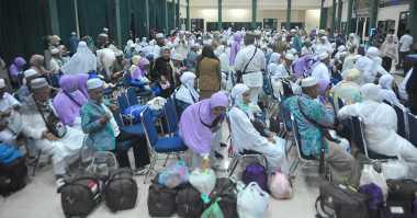 16 Kloter Jamaah Haji Indonesia Pulang Hari Ini