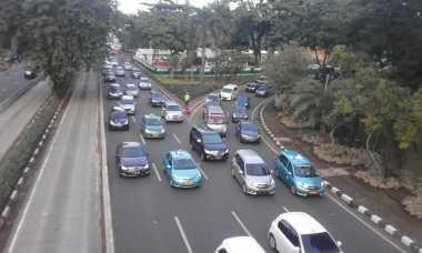 Pagi Ini, Lalu Lintas di Jalanan Ibu Kota Ramai hingga Padat