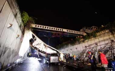 JPO Roboh, Kapolda Metro Pertanyakan Biaya Maintenance