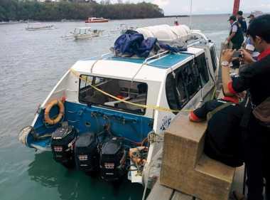 Hari Ini, Manajer Kapal Meledak di Bali Jalani Pemeriksaan