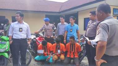 Polisi Tangkap Geng AMOR Pencuri Motor di Timika Papua